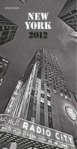 Kalenář nástěnný 2012 - New York Jakub Kasl, 33 x 64 cm
