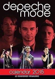 Kalendář 2015 - Depeche Mode (297x420)