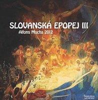 Kalendář nástěnný 2012 - Alfons Mucha Slovanská epopej III, 65 x 70 cm