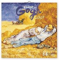 Kalendář 2015 - Vincent van Gogh - nástěnný (GB, DE, FR, IT, ES, NL)