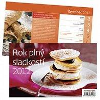 Kalendář stolní 2012 - Rok plný sladkostí