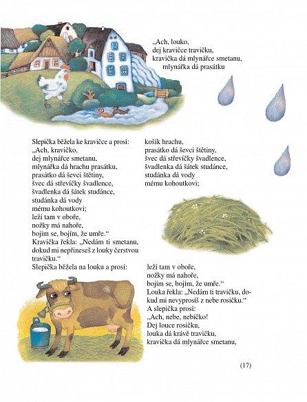 Náhled Český špalíček pohádek, říkadel, hádanek, přísloví a písniček