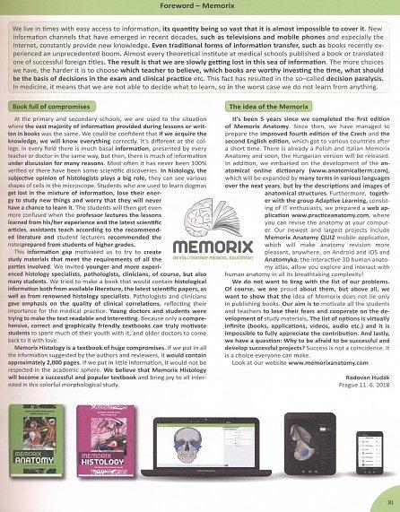 Náhled Memorix Histology