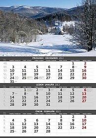 Kalendář nástěnný 2013 - Hory