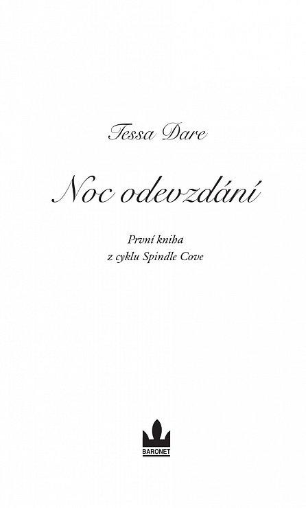 Náhled Noc odevzdání (Série Spindle Cove 1)