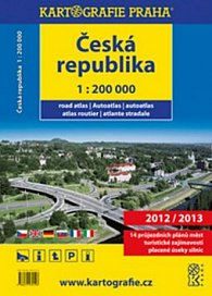 Česká republika - autoatlas 1:200 000 ,2012/2013