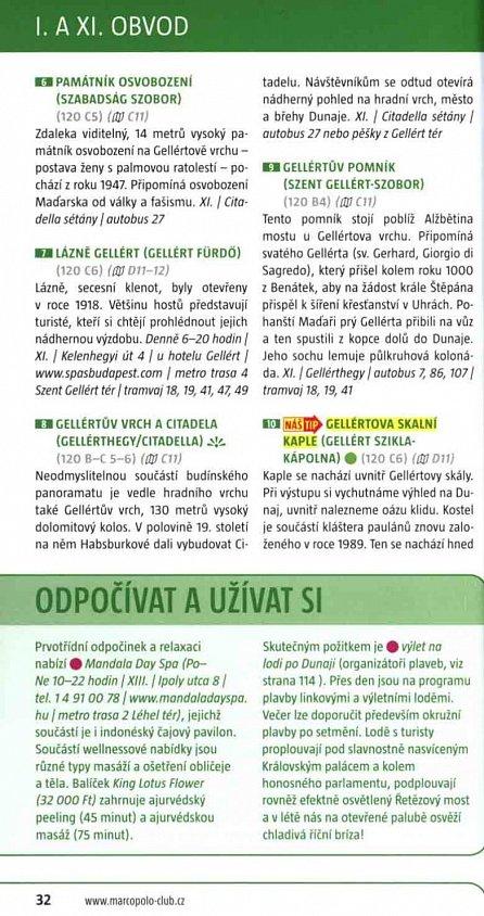 Náhled Budapešť / MP průvodce nová edice
