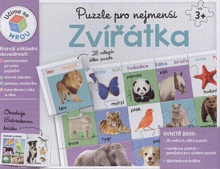 Náhled Puzzle pro nejmenší: Zvířátka