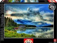 Puzzle Jezero Maligne, Canada 1000 dílků