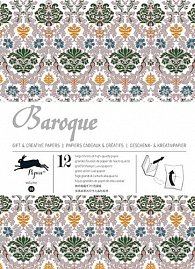 Baroque (Gift Wrapping Paper Book)