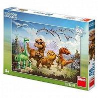 Hodný dinosaurus: Arlo a kamarádi - Puzzle 66 dílků
