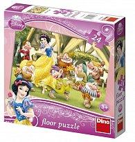 Floor puzzle 24 dílků Sněhurka