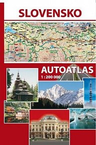 Slovensko Autoatlas 1 : 200 000