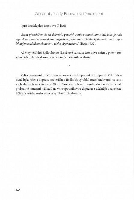 Náhled Základní zásady Baťova systému řízení