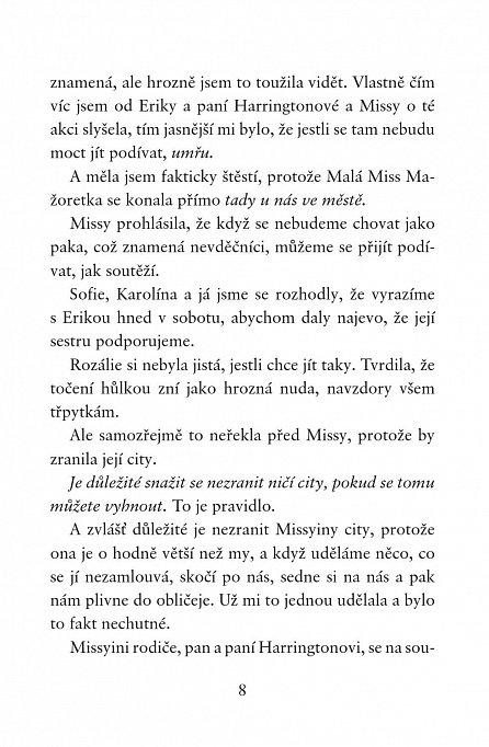 Náhled Holčičí pravidla 5: Allie Finklová - Velký třpytkový podraz