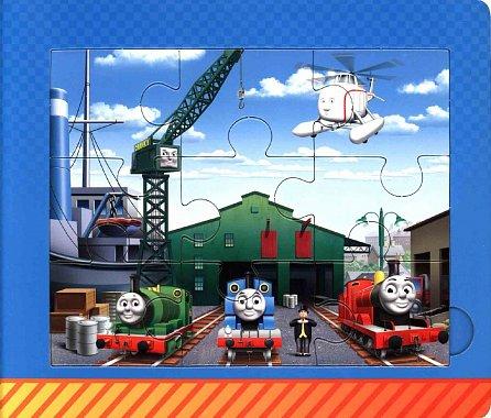 Náhled Tomáš a jeho přátelé (kniha s puzzle)