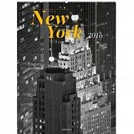 Kalendář nástěnný 2016 - New York - Jakub Kasl, 48 x 64 cm