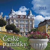 České památky - nástěnný kalendář 2013