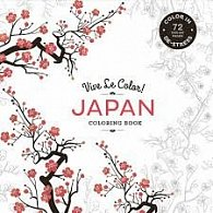 Vive Le Color! Japan (Coloring Book)