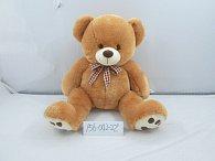Medvěd plyšový hnědý 56 cm