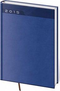 Diář 2015 - PRINT CLASSIC kapesní týdenní - modrá
