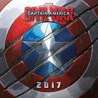 Kalendář 2017 - MARVEL CAPTAIN AMERICA