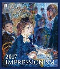Kalendář nástěnný 2017 - Impressionism/Exclusive