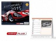 Automobily 2016 - stolní kalendář