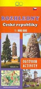 Rozhledny České republiky 1:800 000