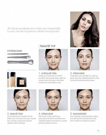 Náhled Make-up za 10 minut. 50 kompletních stylů krok za krokem