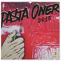 Kalendář 2015 - Pasta Oner - nástěnný s prodlouženými zády