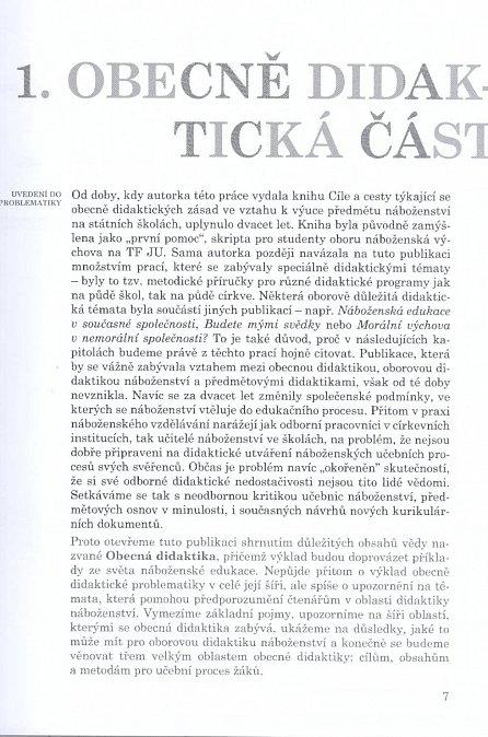 Náhled Cíle a cesty k hlubšímu lidství - Didaktika náboženství v České republice pro 21. století