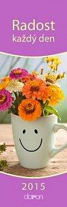 Kalendář záložkový 2015 - Radost na každý den