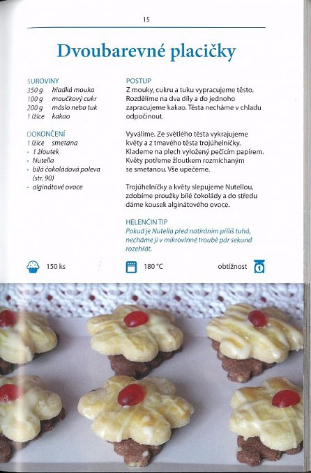 Náhled Helenčino pečení - Zámecké cukroví