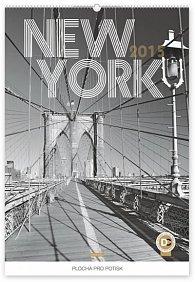 Kalendář 2015 - New York Jakub Kasl - nástěnný s prodlouženými zády