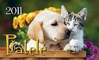 Kalednář 2011 Přátelé stolní