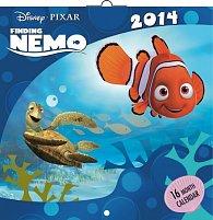 Kalendář 2014 - W. Disney Hledá se Nemo - nástěnný poznámkový (ČES, SLO, MAĎ, ANG)