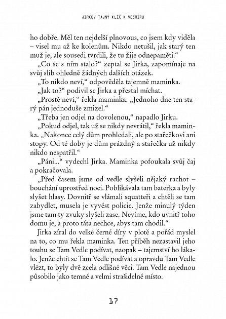Náhled Jirkův tajný klíč k vesmíru - 2. vydání