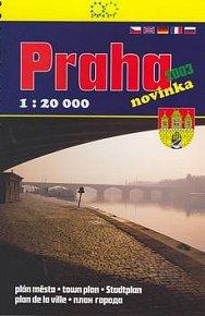 Praha 2003  1:20 000  plán města