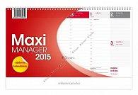Kalendář 2015 - Maximanager červený stol