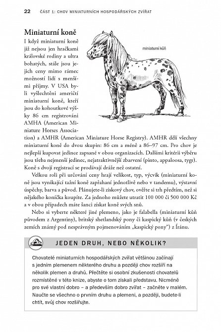Náhled Chov miniaturních hospodářských zvířat - Příručka pro chovatele