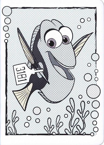 Náhled Hledá se Dory - Omalovánky Maluj vodou!
