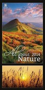 Kalendář 2014 - All About Nature - nástěnný