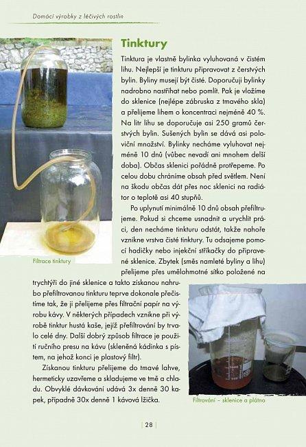 Náhled Domácí výrobky z léčivých rostlin
