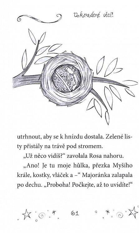 Náhled Malá baletka - Rosa a měsíční kámen