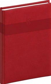 Diář 2013 - Aprint - Týdenní A5 Praktik, červená, 15 x 21 cm