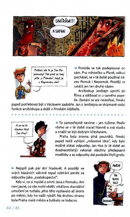 Náhled Jan Hus očima krejčího Ondřeje a panny Anežky