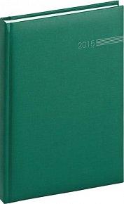 Diář 2015 - Capys - Týdenní A5, zelená (CZ, SK, GB, DE)