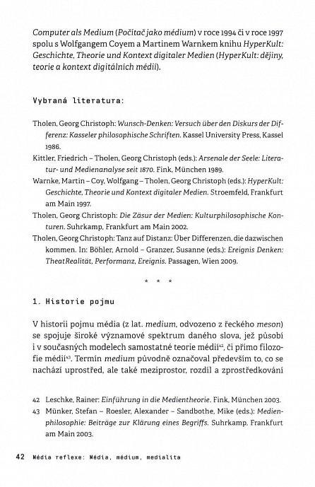 Náhled Medienwissenschaft - Východiska a aktuální pozice německé filozofie a teorie médií