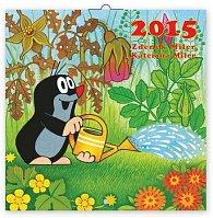 Kalendář 2015 - Krteček - nástěnný (CZ, SK, HU, PL, RU, GB, DE, ES)